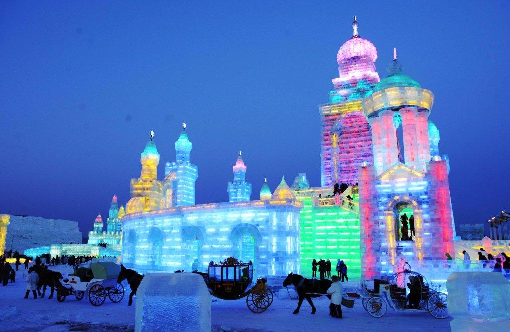 La mágia que se vive en el Festival de la Nieve y el Hielo de Harbin