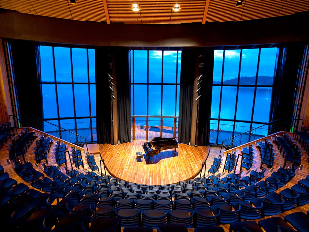 Interior. Foto- Teatro del Lago