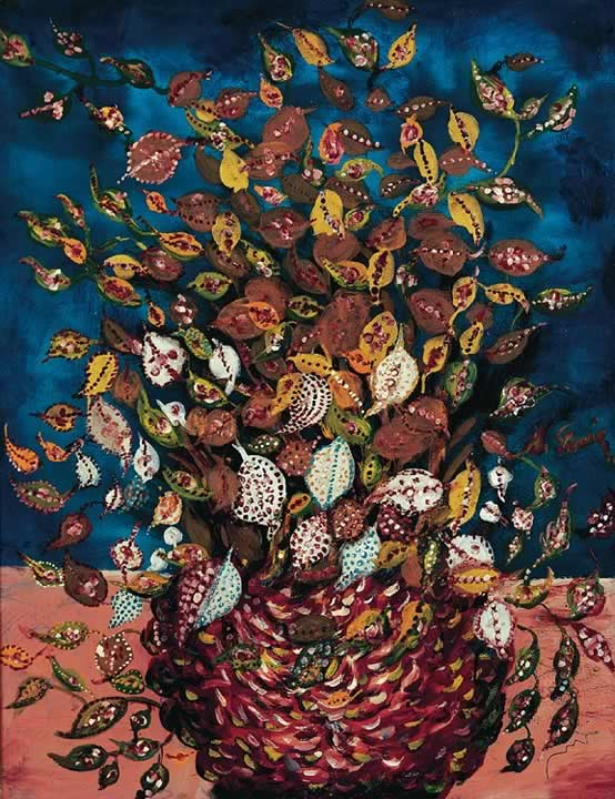 SERAPHINE LOUIS – Le Bouquet de feuilles – 1929-1930 © Adagp, Paris 2008 Collection Dina Vierny