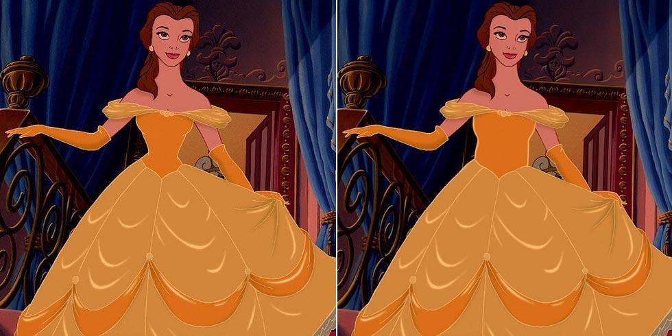 ¿Qué pasaría si las princesas Disney tuviesen cinturas reales?