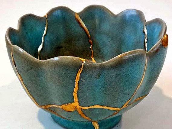 """""""Kintsugi"""" cicatrises de Oro, la resiliencia convertida en Arte"""