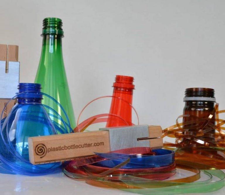 Plastic Bottle Cutter, increíble y creativo invento  para convertir botellas de plástico en cuerda