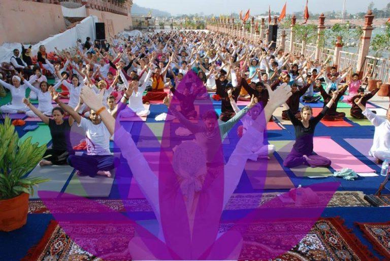 Yoga Fest en parque El Secreto