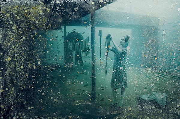 La exposición submarina de Andreas Franke