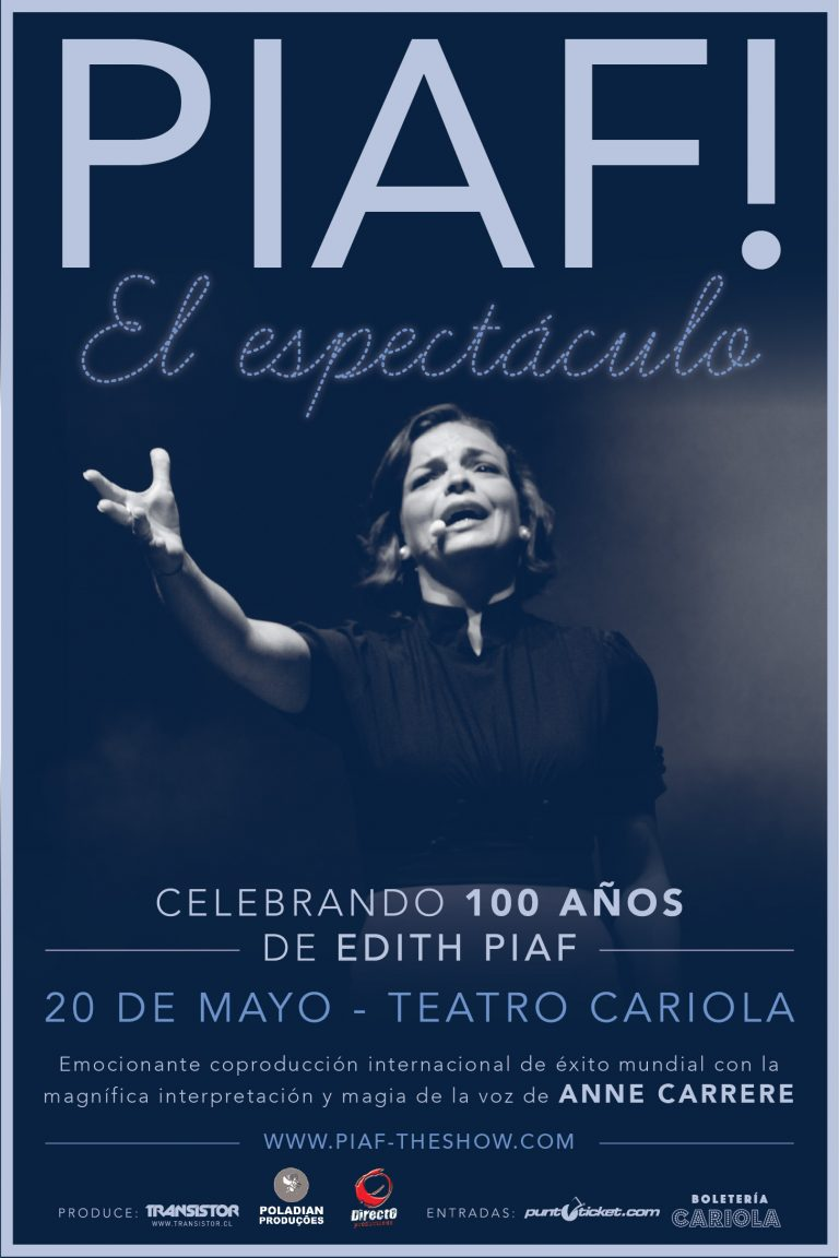 'Piaf, el espectáculo'. Celebrando 100 años de Edith Piaf