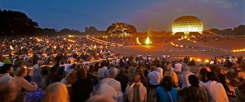 Auroville, la ciudad de la aurora en India