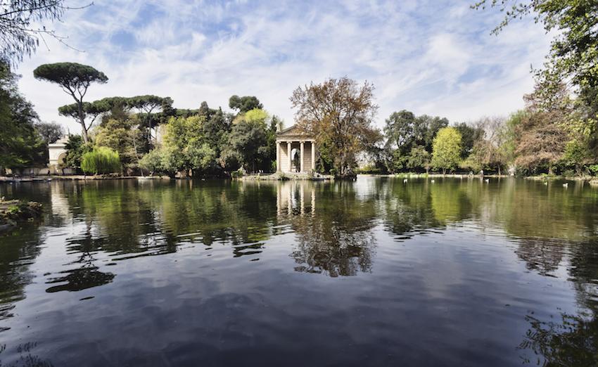 Villa Borghese, Rome, Italy.