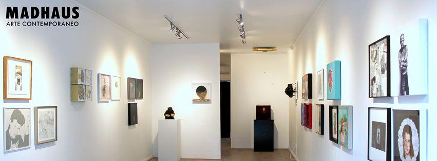 Exposición colectiva 40 x 40 en Galería Madhaus