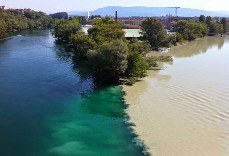 Lugares donde se juntan las aguas
