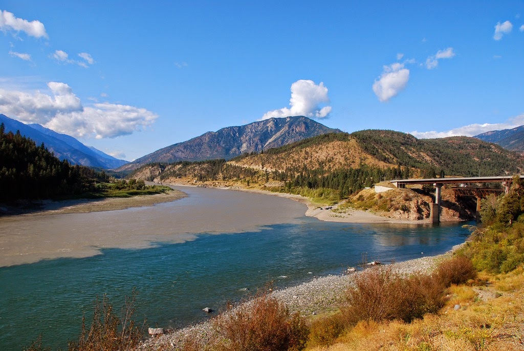 Confluence-of-the-Thompson-and-Fraser-Rivers-in-Lytton-BC-Canada.