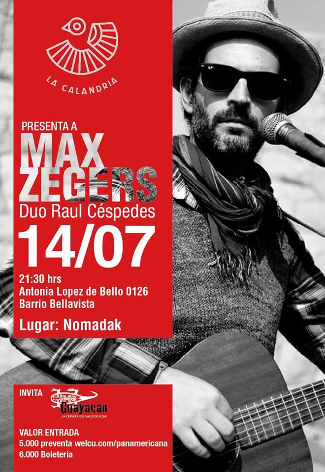 Max Zegers en Nomadak