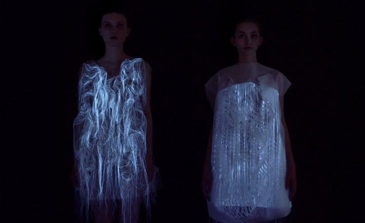 Los increíbles vestidos de Luz de Ying Gao