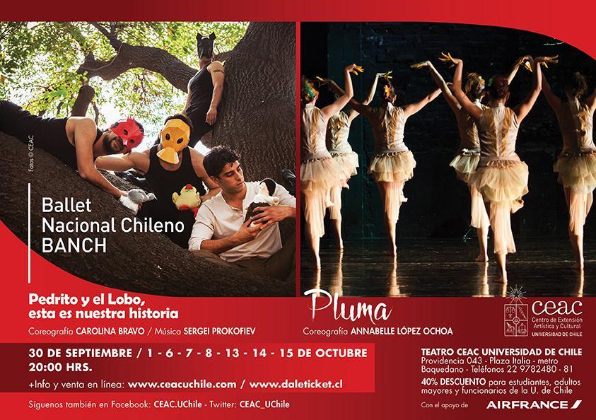 Ballet Nacional Chileno presenta nueva obra inspirada en famoso cuento musical