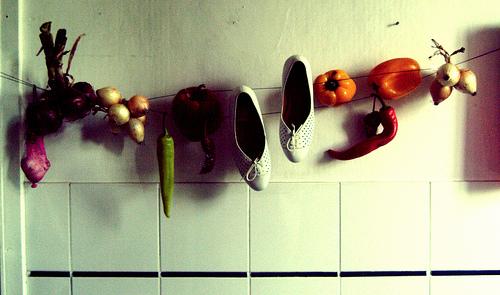 «Melinda en Rojo»  encuentro de zapatos con historias