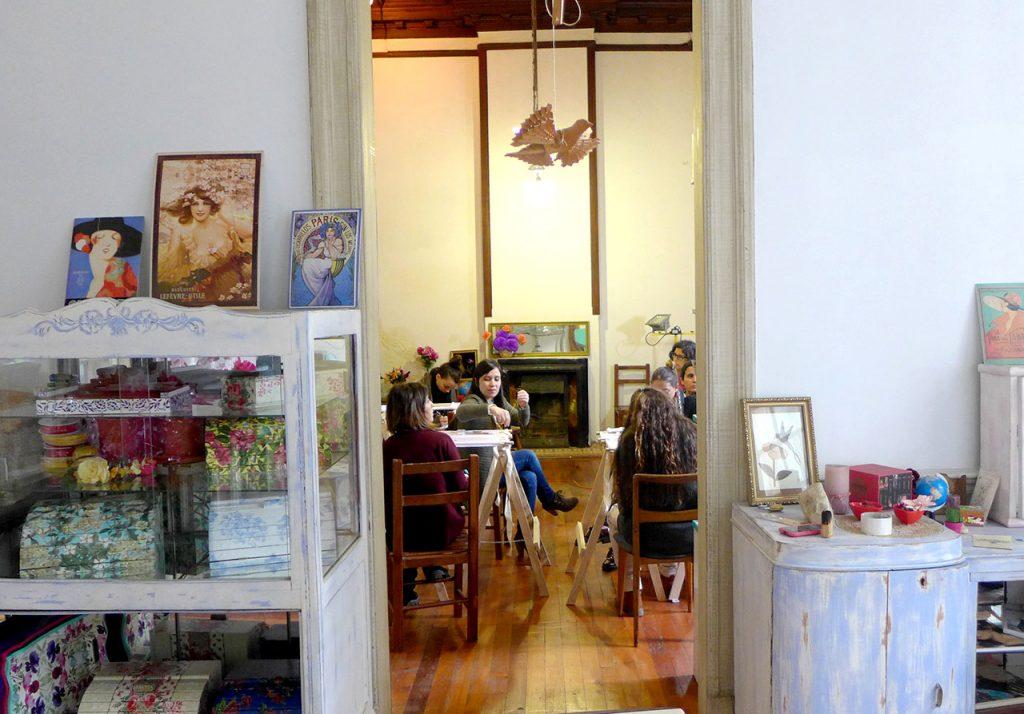 """""""Estudio Miraflores"""" lugar mágico para la creatividad, primer workshop de bordado por Laura Ameba"""