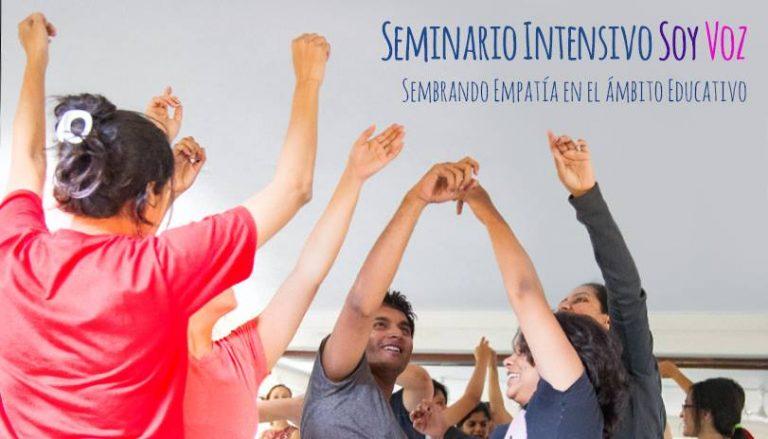 Seminario intensivo «Soy Voz»