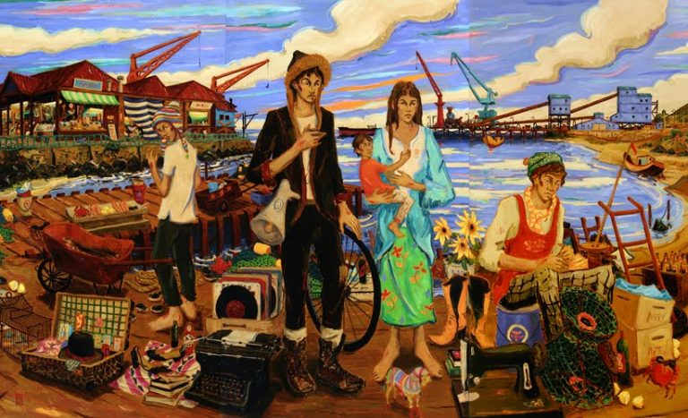 Los pintorescos cuadros del gran artista chileno Gonzalo Ilabaca