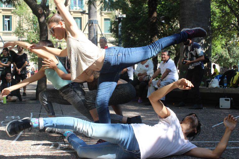 La danza contemporánea se toma la Plaza de Armas