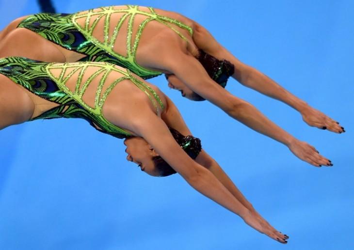 Las Sirenitas que impulsan los sueños del nado sincronizado chileno