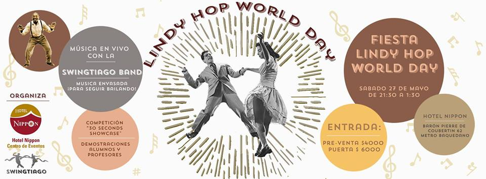 Fiesta swing celebración Lindy hop day
