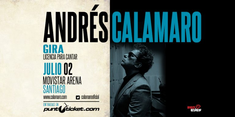 "Andrés Calamaro "" Licencia para cantar"""