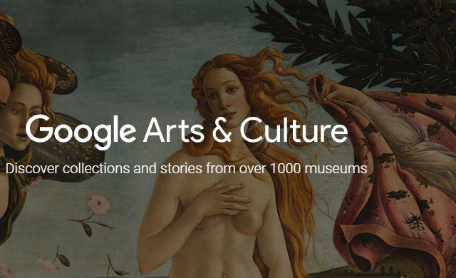 """""""Google Arts & Culture"""" la App que te hará navegar por los museos, el arte, la moda y la cultura de todo mundo"""