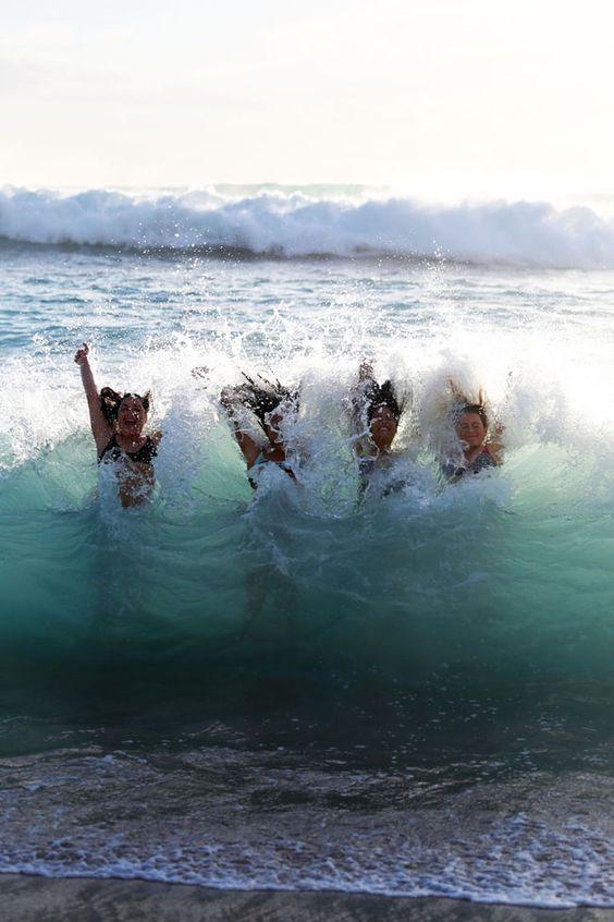 Disfrutar de un buen baño de mar, Una fuente inagotable de salud.