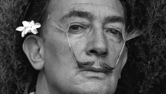Salvado Dalí, Intimo