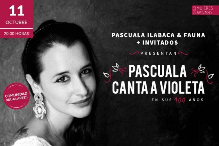 Pascuala canta a Violeta