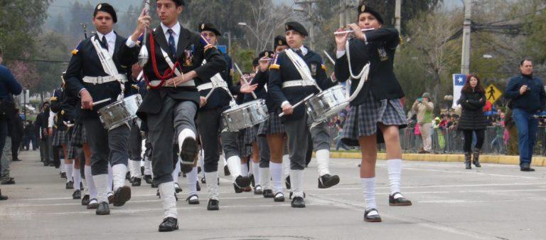 Desfile de bandas de Gaitas Escosesas