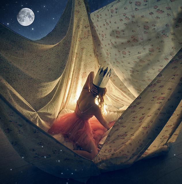 Las Imagenes misteriosas y de ensueño que crea la fotógrafa Lissy Elle