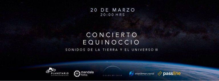 Concierto Equinoccio en el Planetario