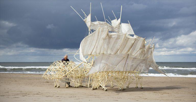 Theo Jansen. Algoritmos del viento