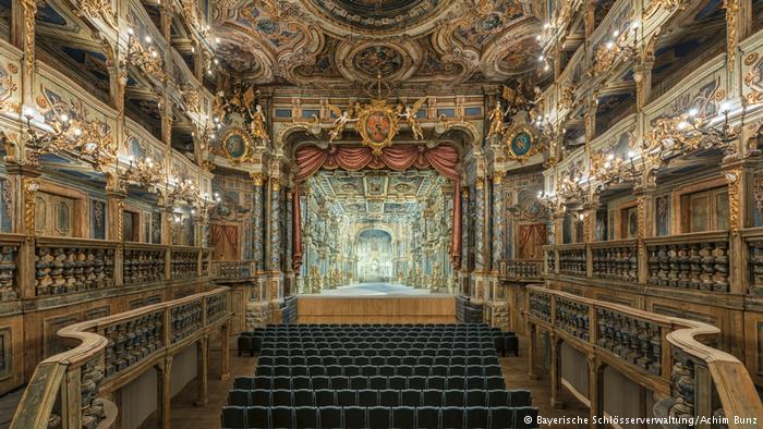 La Casa de la ópera Margrave de Bayreuth vuelve a abrir al público