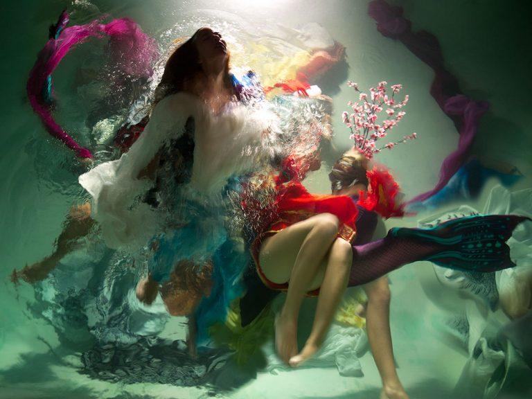 Bellas fotografías barrocas bajo el agua por Christy Lee Rogers