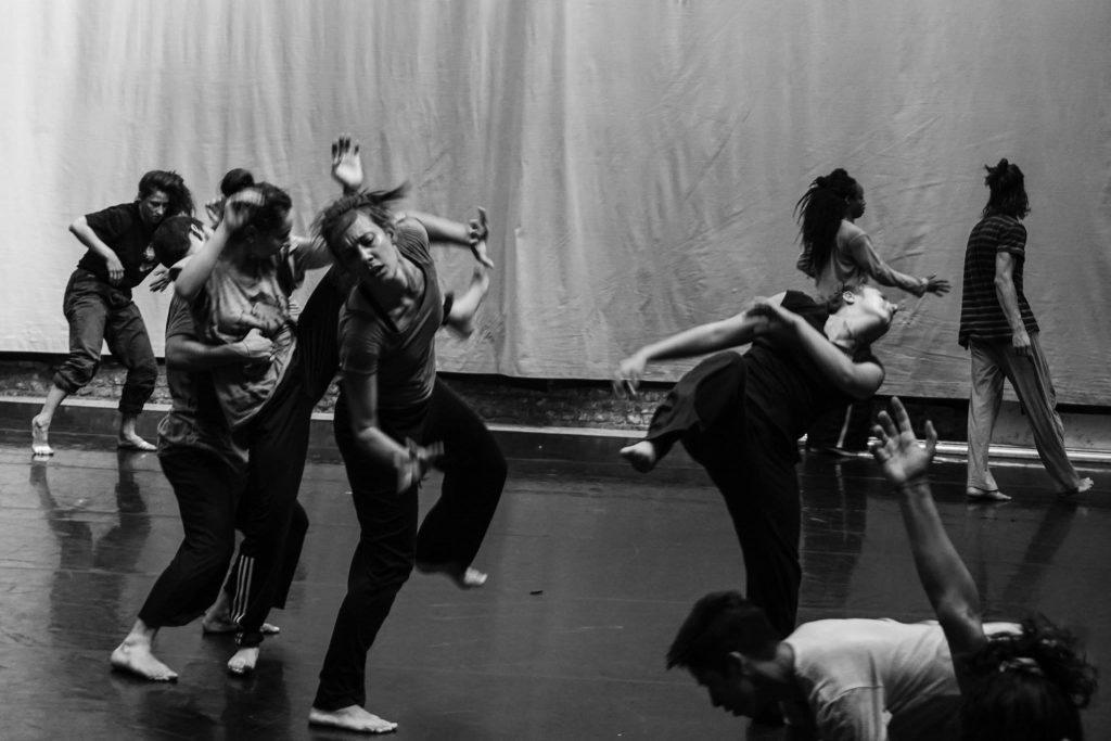 Workshop de ex bailarín de Wim Vandekeybus en Estudio Danza Francisca García