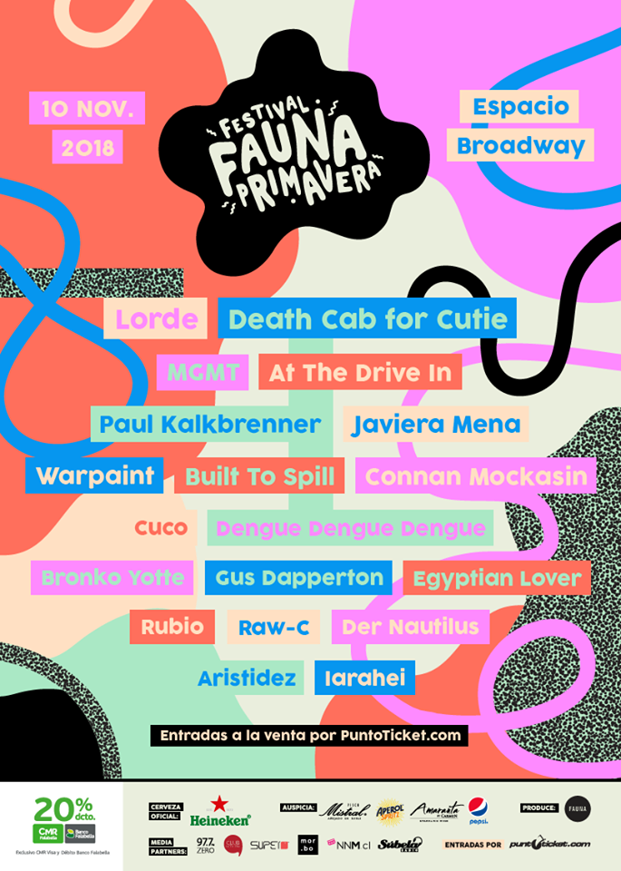 Festival Fauna Primavera 2018
