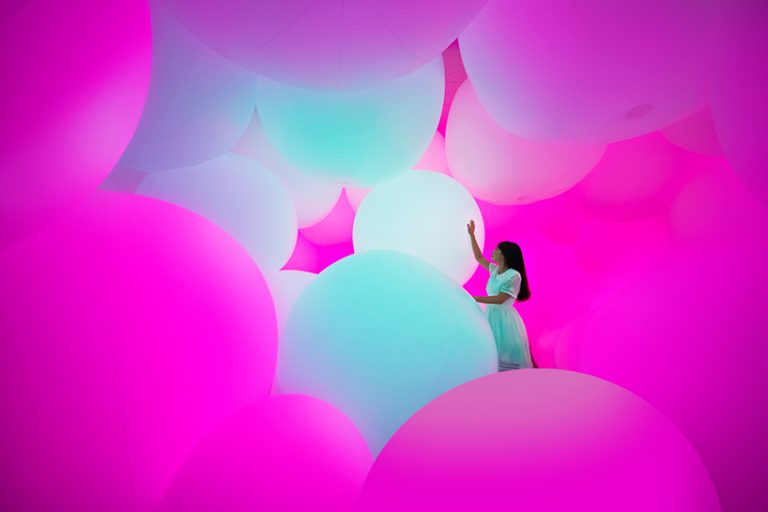 Increíble el primer Museo de Arte Digital abierto en Japón