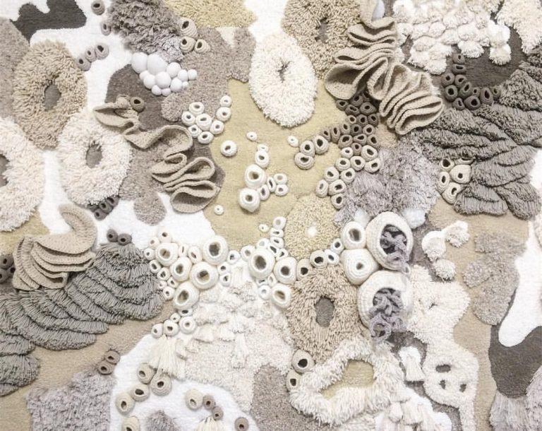 Los bellos corales tejidos de Vanessa Barragão