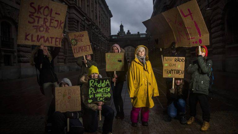Greta Thunberg y la nueva generación contra el cambio climático