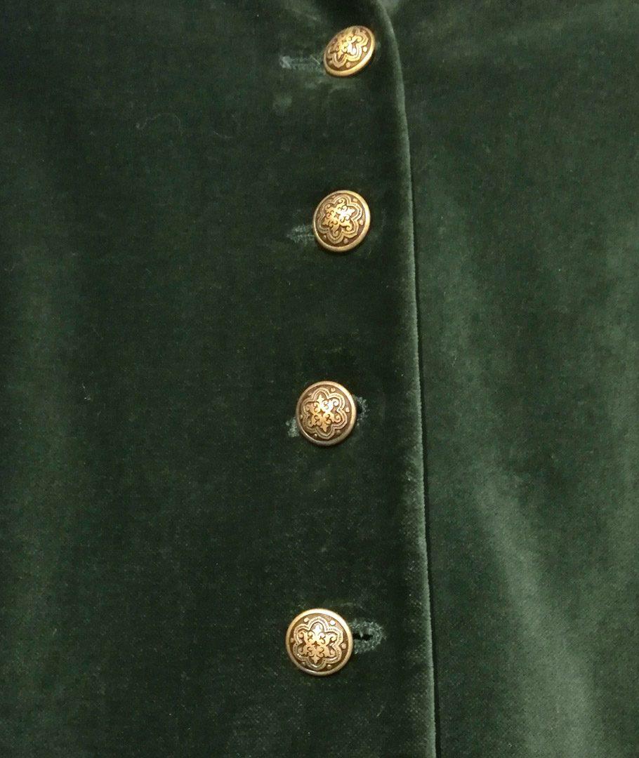 Chaqueta Terciopelo Verde