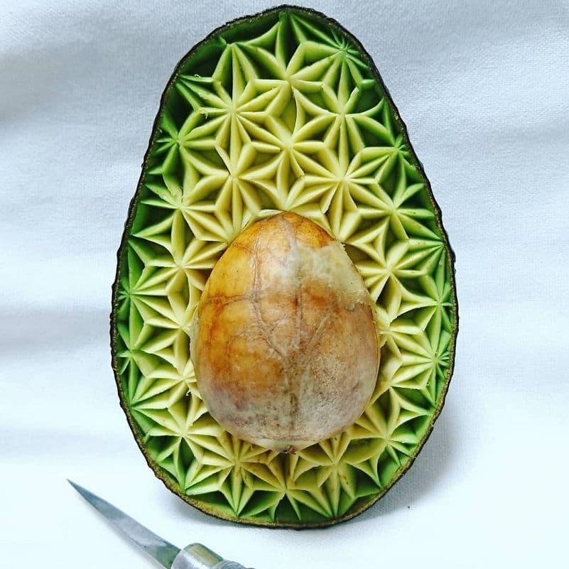 Cuando Takehiro Kishimoto  hace que los alimentos se transformen en arte