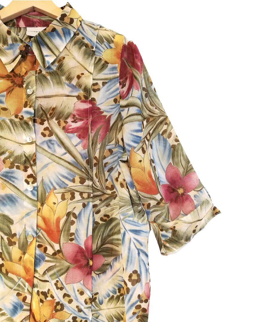 Blusa flores de colores