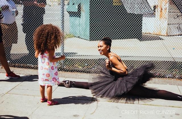 Bailarina lleva magia del ballet a áreas empobrecidas de EEUU