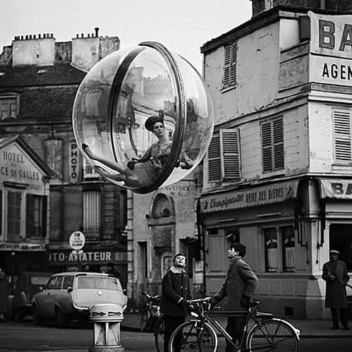 """Bubble"" la serie del fotógrafo Melvin Skolsky. Meses en una burbuja sin poder salir al Mundo."
