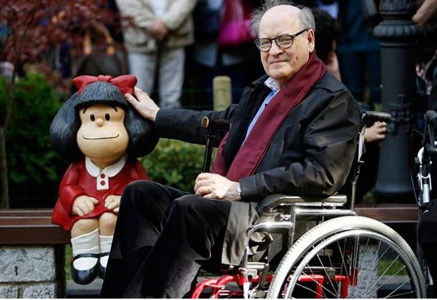 Muere Quino, el ilustrador argentino creador de  Mafalda