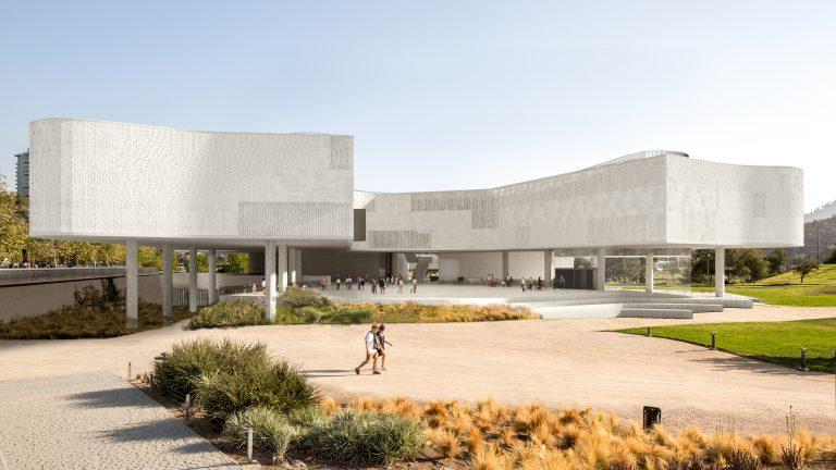 Así será el Nuevo Museo de Santiago  (NUMU) que se construirá en el Parque Bicentenario