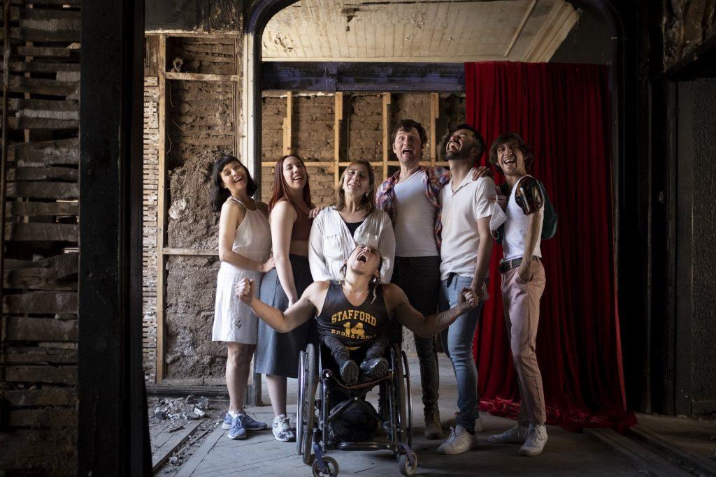 """""""Contagio creativo"""" primera residencia inclusiva en danza de GAM"""