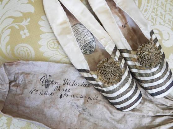 Se subastan las zapatillas de ballet de la reina Victoria